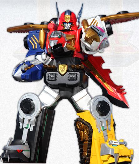 Comparison gosei great vs gosei great megazord - Robot power rangers megaforce ...