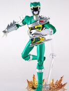 Dino Steel Green Dino Charge Ranger SH Figuarts