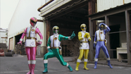 Episode 05 - Dairanger Change