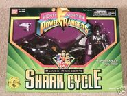 Black Ranger's Shark Cycle