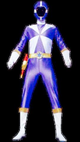 File:Blue Lightspeed Ranger & GoBlue.png