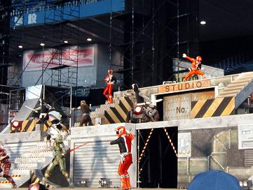 File:S.P.D. Fire Squad in Magiranger Stage Show.jpg