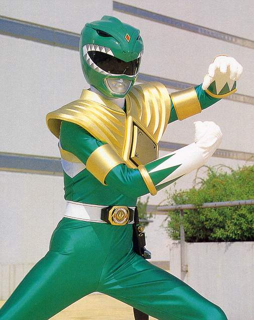 Image result for green power ranger