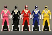 Fiveman Ranger Keys