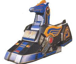 MMPR Unicorn Thunderzord