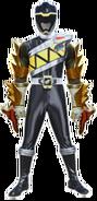 Kyoryu Black using Deinosgrander