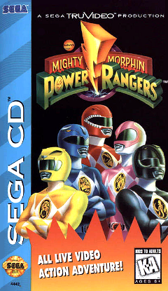 Power Rangers Sega CD