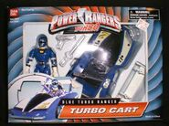 Blue Turbo Ranger Turbo Cart