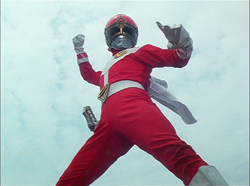 GoggleRed Gaoranger vs. Super Sentai
