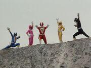 Fiveman (Super Sentai World)