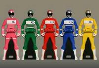 Denjiman Ranger Keys
