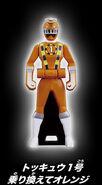 ToQ 1 Orange Ranger Key