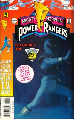 Marvel's MMPR Vol. 1 Issue 4