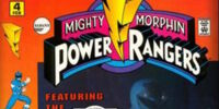 Mighty Morphin Power Rangers (Marvel) Vol. 1 Issue 4