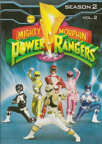 File:Mighty Morphin Power Rangers Season 2 Vol. 2.jpg