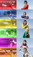 Gokaiger-Toqger final roll call