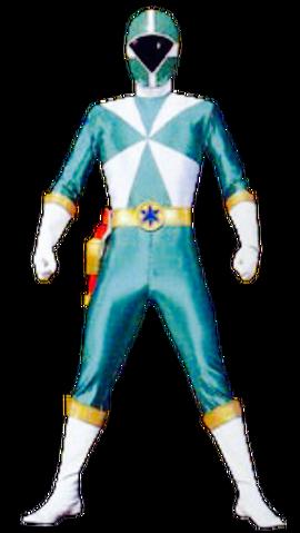 File:Green Lightspeed Ranger & GoGreen.png