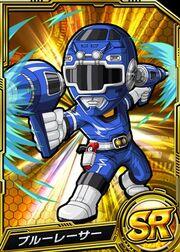 Blue Racer in Battle Base