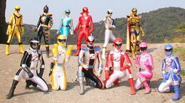 Normal boukenger vs super sentai