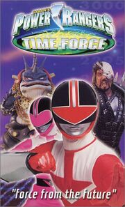 Power Rangers Time Force- Force from the Future