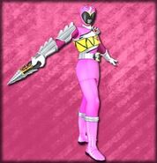 Kyoryu Pink Armed On (Dice-O)