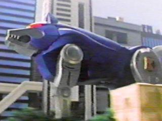 Blue wolf zord - photo#1