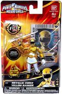 Metallic Force Yellow Ranger