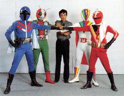 Hiroshi Miyauchi x4