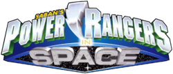 Power Rangers In Space logo 1998