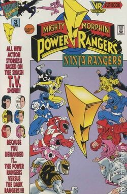 Ninja Rangers Issue 3