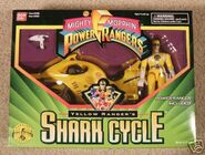 Yellow Ranger's Shark Cycle