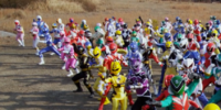 Comparison:Gokaiger Goseiger Super Sentai 199 Hero Great Battle vs. End Game (Megaforce)