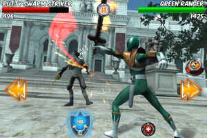 Power rangers legends green ranger
