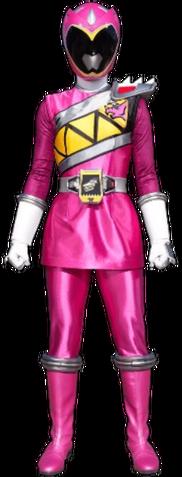 File:Pink Dino Charge Ranger & Kyoryu Pink.png