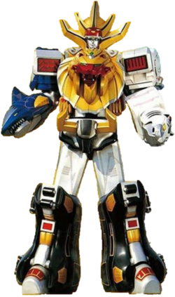 Wild Force Megazord & Gao King