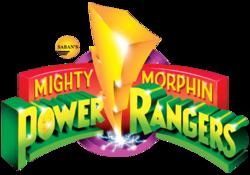 Mighty Morphin Power Rangers Season 1 to 3 logo