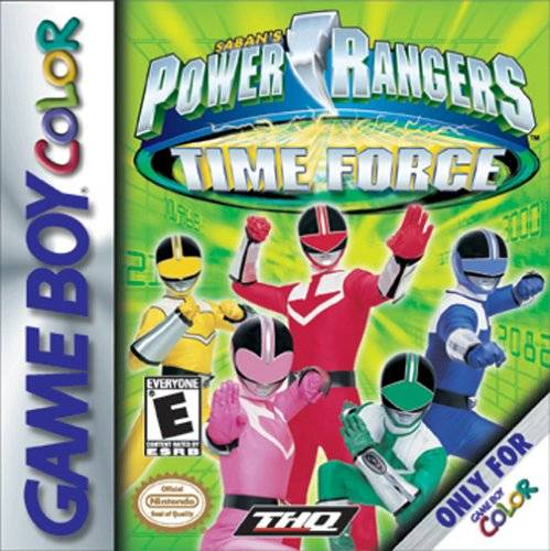 Powers Game Playstation Power Rangers Time Force Game