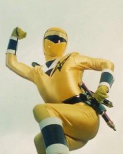 Alien Yellow Ranger 1