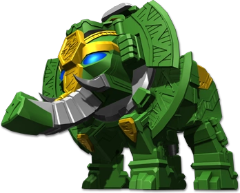 Image Gallery elephant zord