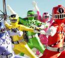 Power Rangers Train Force