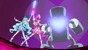 Floral Power Fortissimo saying heartcatch