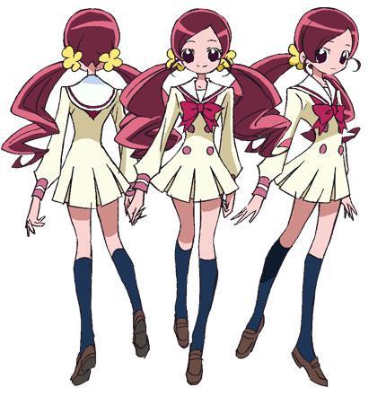 image tsubomi schooljpg pretty cure wiki fandom