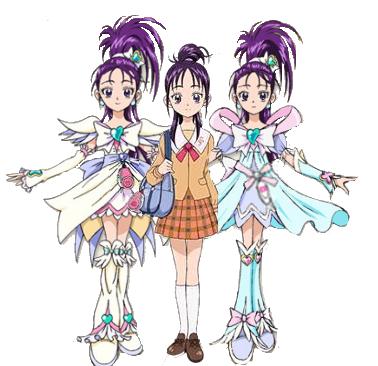 Cure Egret Cure Windy Mai Misho Pretty Cure Wiki