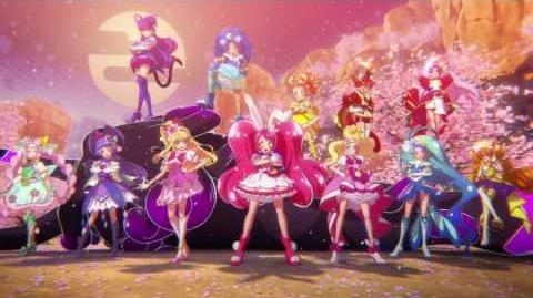 Segundo trailer de Pretty Cure Dream Stars