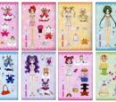 Pretty Cure Paper Dolls