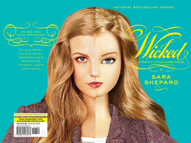 Pretty Little Liars Book Cover Models : Wicked pretty little liars wiki fandom powered by wikia