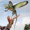 CoelurosauravusPortrait