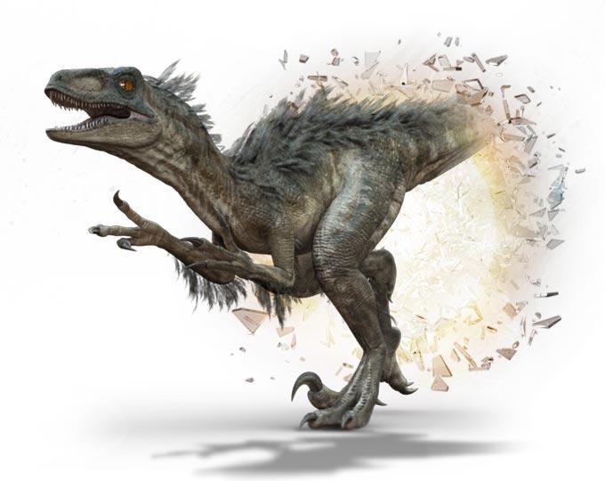 Primeval New World Albertosaurus Utahraptor | An...