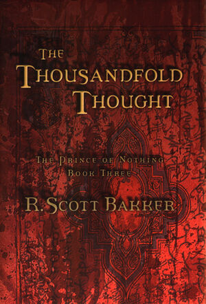 The Thousandfold Thought US hardcover