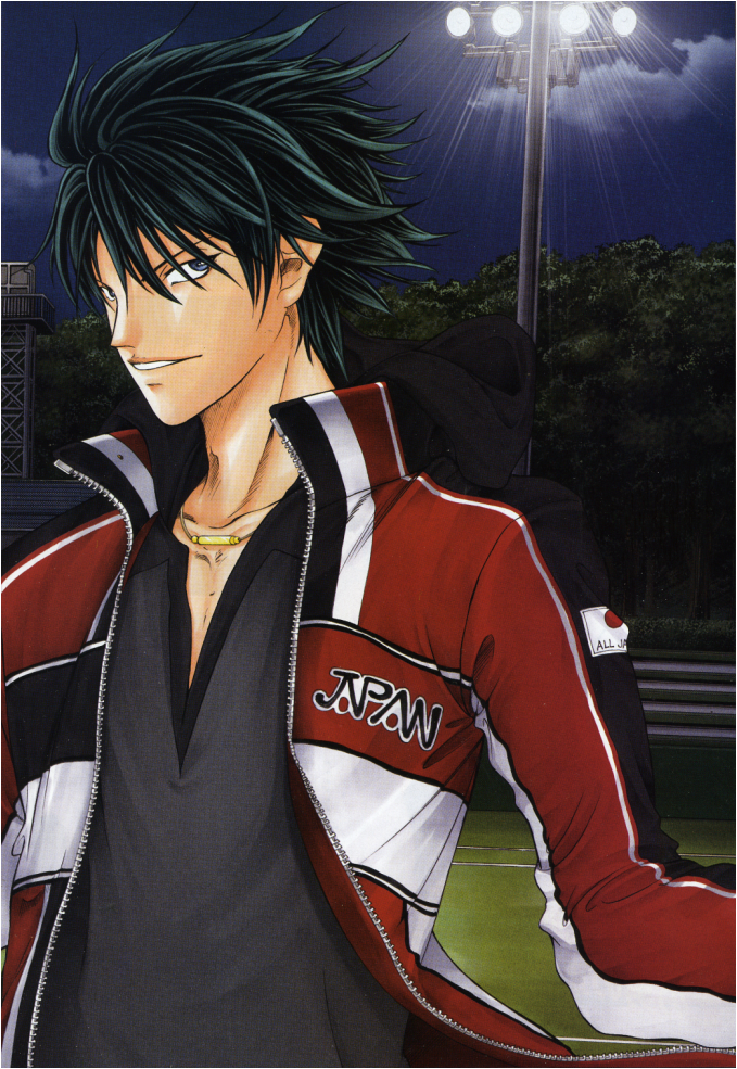 No 4 Ryoga in his red ...